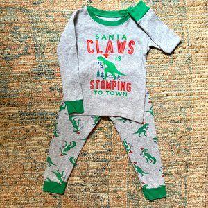 Carter's Christmas Dino PJ's | 3T